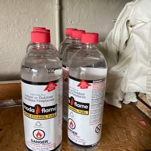 Lot # 235 (6) Moda Flame Bottles