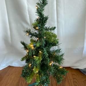Lot # 239 Table Top Christmas Tree