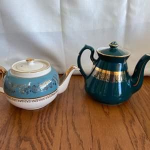 Lot # 245 Sadler and Hall Teapots