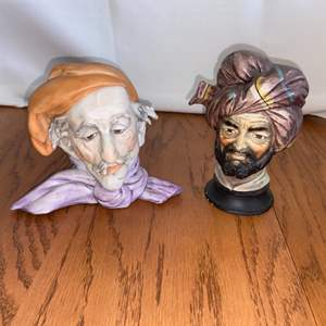 Lot # 248 Vintage Arabian Nights Themed Ceramic Figurines