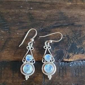 Lot # 253 Sterling Silver Dangle Earrings