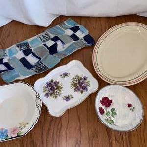 Lot # 275 Just in Time for the Holiday Season!  Serving Platters
