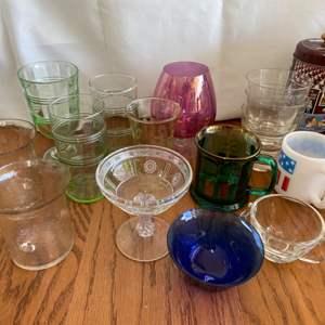 Lot # 278 Assortment of Kitchen Glassware