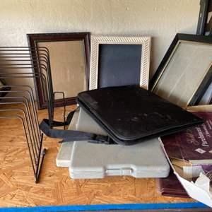 Lot # 294 Office Supplies & Frames