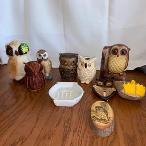Lot # 321 Holy Owly!  Great Collection for Owl Fanciers