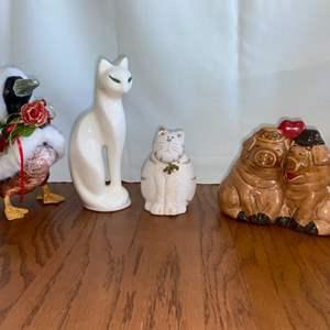 Lot # 323 Animal Figurines