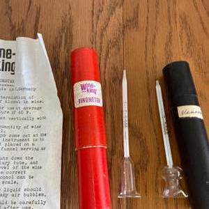 Lot # 335 Vintage Wine King Vinometers