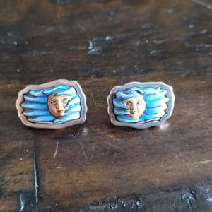 Lot # 358 Unique Sterling Silver Earrings