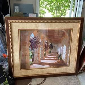 Lot # 365 Framed Artwork