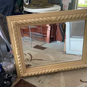 Lot # 366 Twisted Rope Mirror