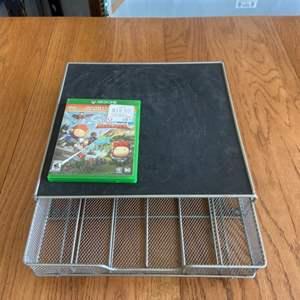 Lot # 372 XBox One Game & K-Kup Counter Storage