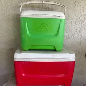 Lot # 375 (2) Igloo Coolers
