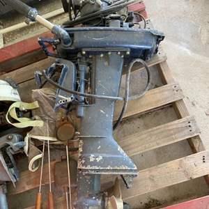 Lot # 378 Boat Motor Parts