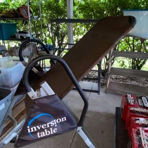 Lot # 398 Inversion Table - Great Condition
