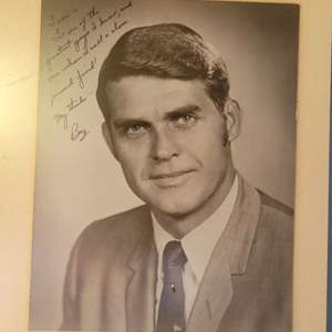 Lot # 2 Autographed Picture of Buz Lukens w/ Signed Letter