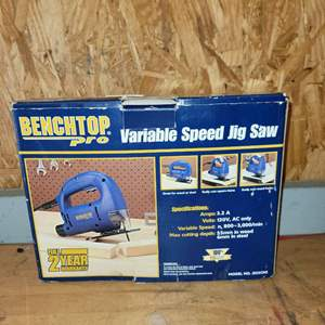 Lot # 8 Benchtop Pro Variable Speed Jig Saw