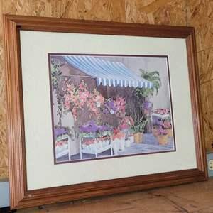 Lot # 15 Nicely Framed Print by Jan Sanders
