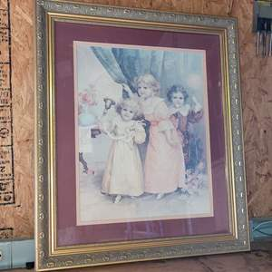 Lot # 27 Nice Victorian Style Framed Print