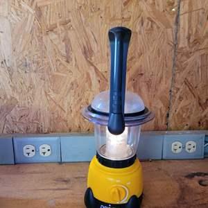 Lot # 56 Vintage Dorcy Camping Lantern - Works Great!