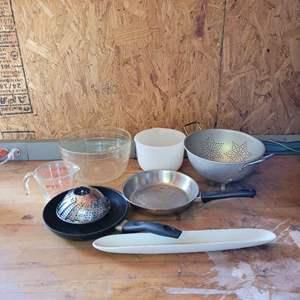 Lot # 58 Nice Assortment of Kitchenware