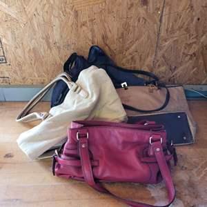 Lot # 60 Assortment of Ladies Handbags