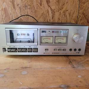 Lot # 65 Pioneer CT-F500 Stereo Cassette Tape Deck - Tested and Works