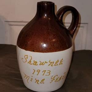 Lot # 77 Shawnee 1973 Pottery Jug