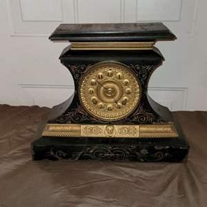 Lot # 85 1912 Ansonia New York - 8 Day Clock