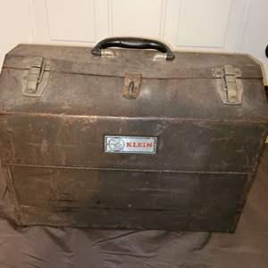 Lot # 87 Vintage Klein Toolbox