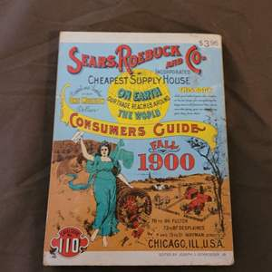 Lot # 92 Vintage 1970 Reprint of Sears Roebuck Consumers Guide