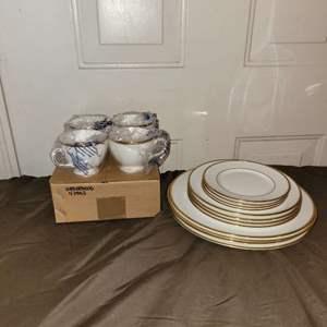 Lot # 95 Beautiful Set of Wedgwood CALIFORNIA Dinnerware