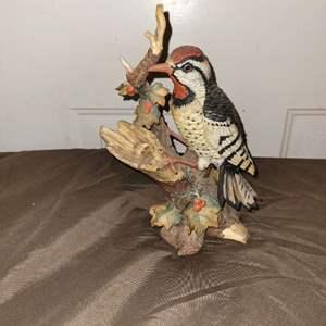 Lot # 107 Bird Figurine - Marked on Bottom