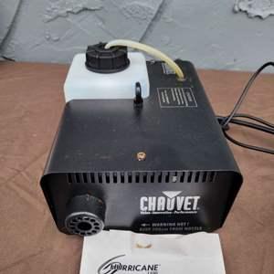 Lot # 121 Chauvet Fog Machine Hurricane 1100 w/ User Manual