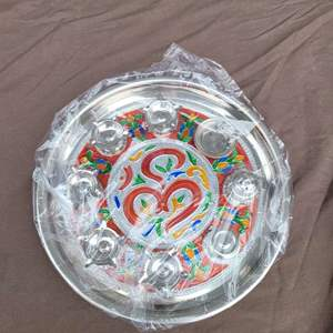 Lot # 125 WOW!  Gorgeous Shiv Condiment Tray - New in Packaging