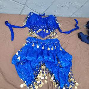 Lot # 128 Gorgeous Ladies Belly Dancing Costume
