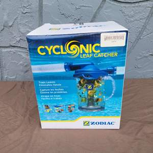 Lot # 134 Zodiac Cyclonic Leaf Catcher for Suction Side Pool Cleaners Model #CLC500