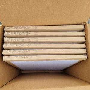 Lot # 142 HVAC Air Filters 16 x 20 x 1 (Set of 6)