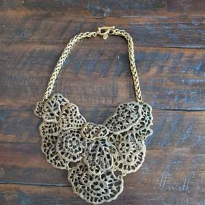 Lot # 160 Stunning Vintage Ann Taylor Boho Chic Necklace