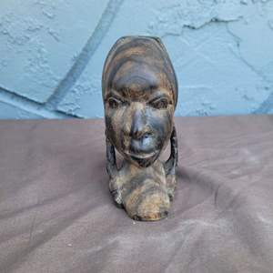 Lot # 195 Wooden Tribal Figurine