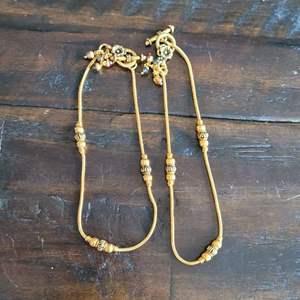 Lot # 204 Pretty Pair of Ankle Bracelets