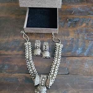 Lot # 205 Beautiful Boho Necklace & Earrings Set