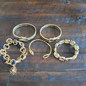 Lot # 208 (5) Fashion Bracelets