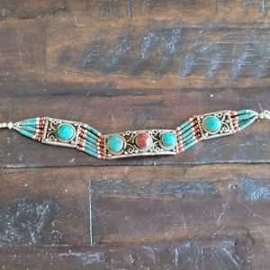 Lot # 218 Handmade Turquoise Bracelet - Unmarked