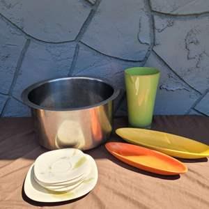 Lot # 246 Mikasa Plates, Olive Dishes & More