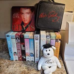 Lot # 260 Collection of Elvis Memorabilia