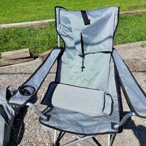 Lot # 282 Folding Chair w/ Bag