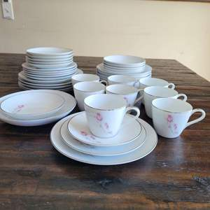 Lot # 297 DUET by Rose China of Japan Dinnerware