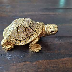 Lot # 314 Beautiful Turtle Trinket Box from Dubai