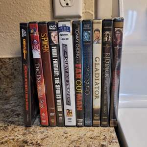 Lot # 328 Assortment of DVDs