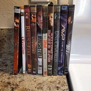 Lot # 330 Assortment of DVDs